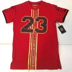 Switch Remarkable Men's Red Gold Graphic Tee